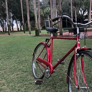 Old style 3 speed bike